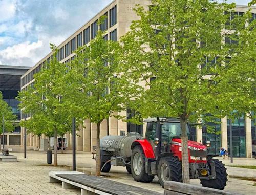 Gericke Berlin - Hier blüht was - Bewässerung